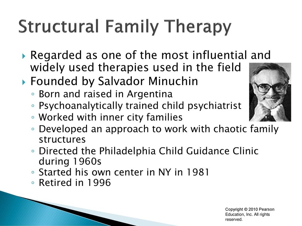 Family Structural Theory and Dysfunctional Families
