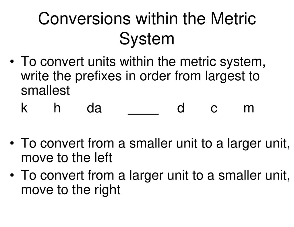 The metric system conversions ppt download conversions within the metric system nvjuhfo Gallery
