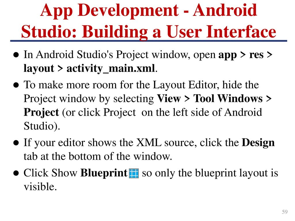 Outline introduction android ios and windows 10 mobile ppt 60 app development malvernweather Gallery