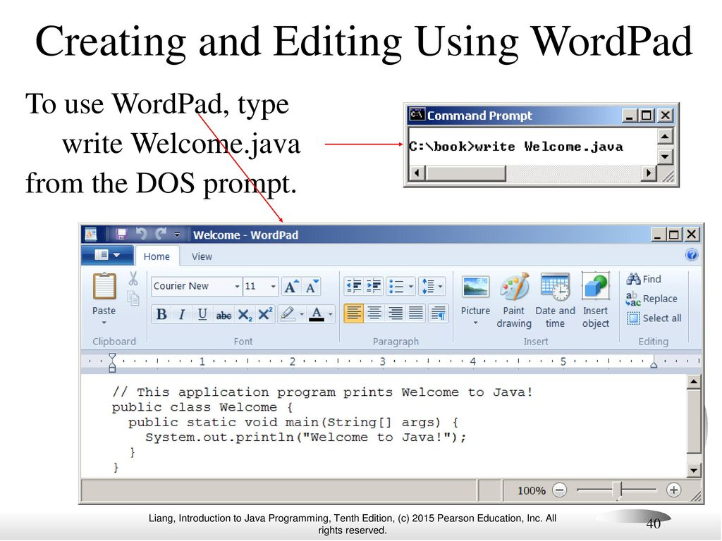 how to write ddos using notepad