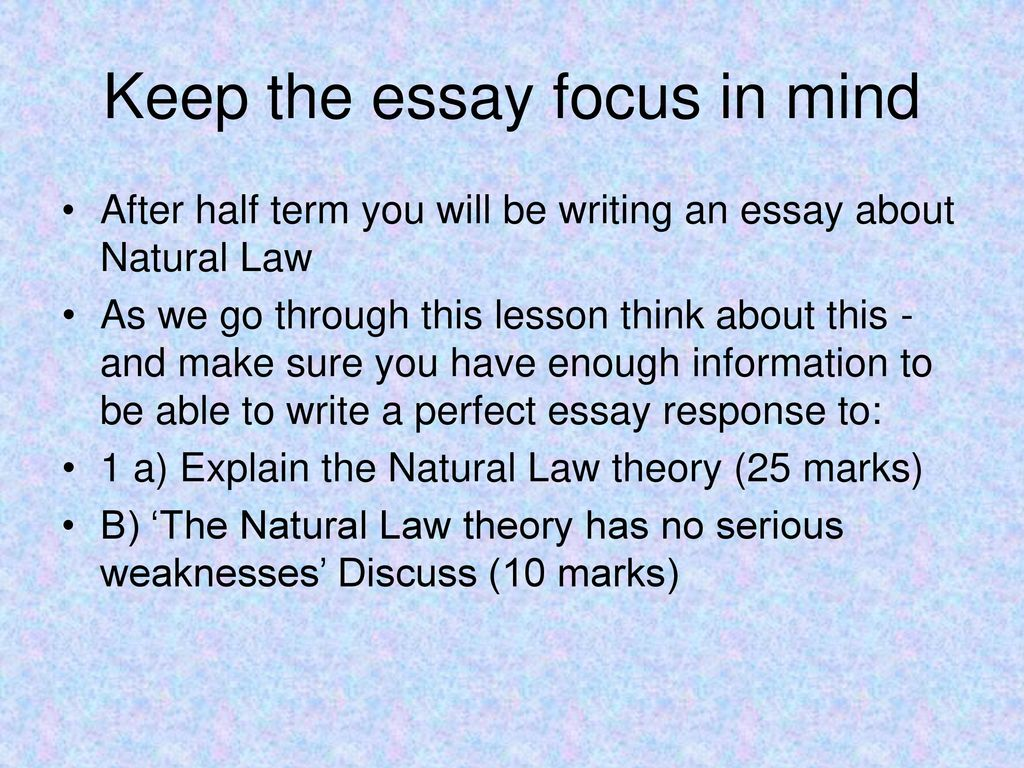 essays on the law of nature summary The nature of the law of nature humans are complex beings they adapt, learn, have intelligence and free will, can reason, feel emotions, and have a conscience.