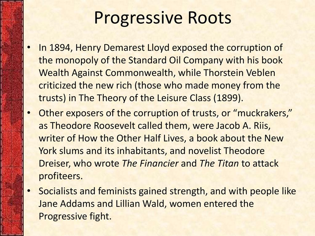 progressivisms Progressivism in the united states is a broadly based reform movement that reached its height early in the 20th century it was middle class and reformist in nature.