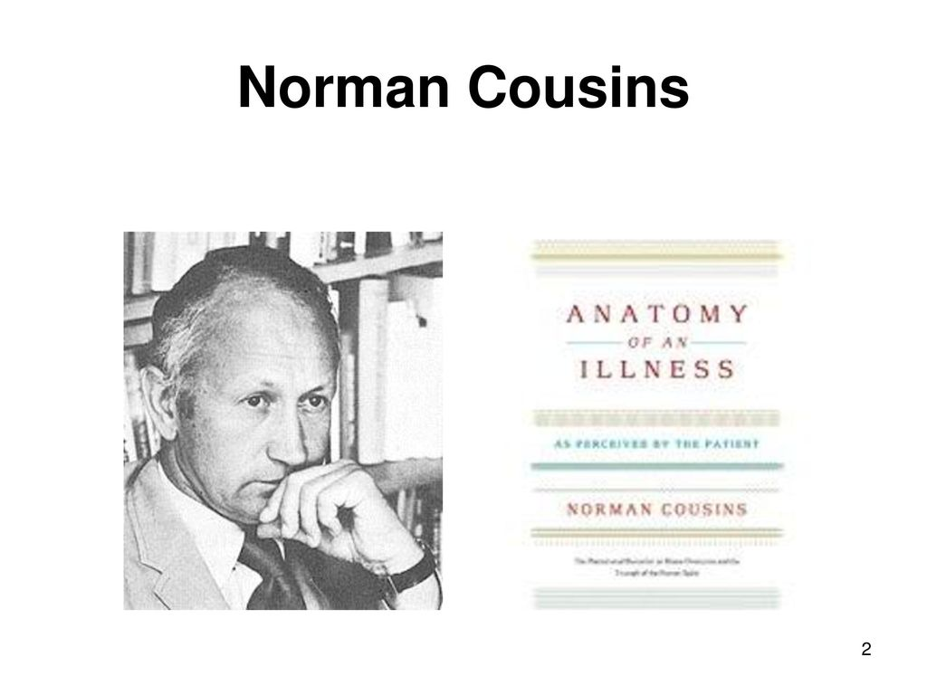 Nice Norman Cousins Anatomy Of An Illness Pictures - Anatomy Ideas ...