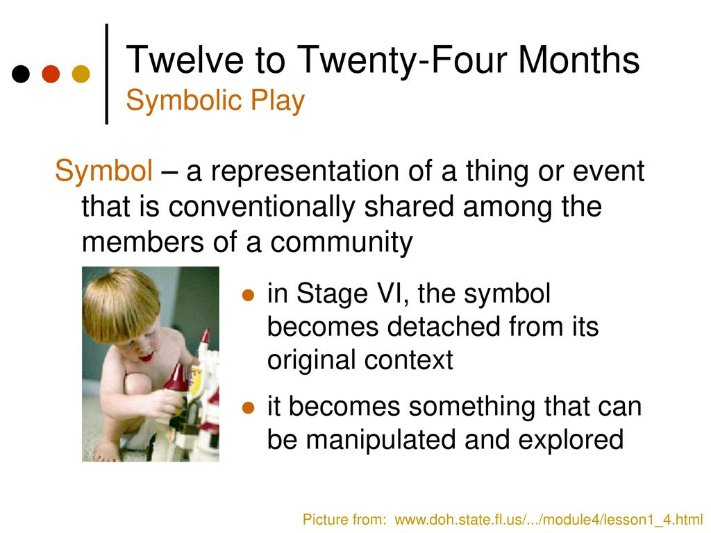Cognitive and brain development ppt download twelve to twenty four months symbolic play buycottarizona Images