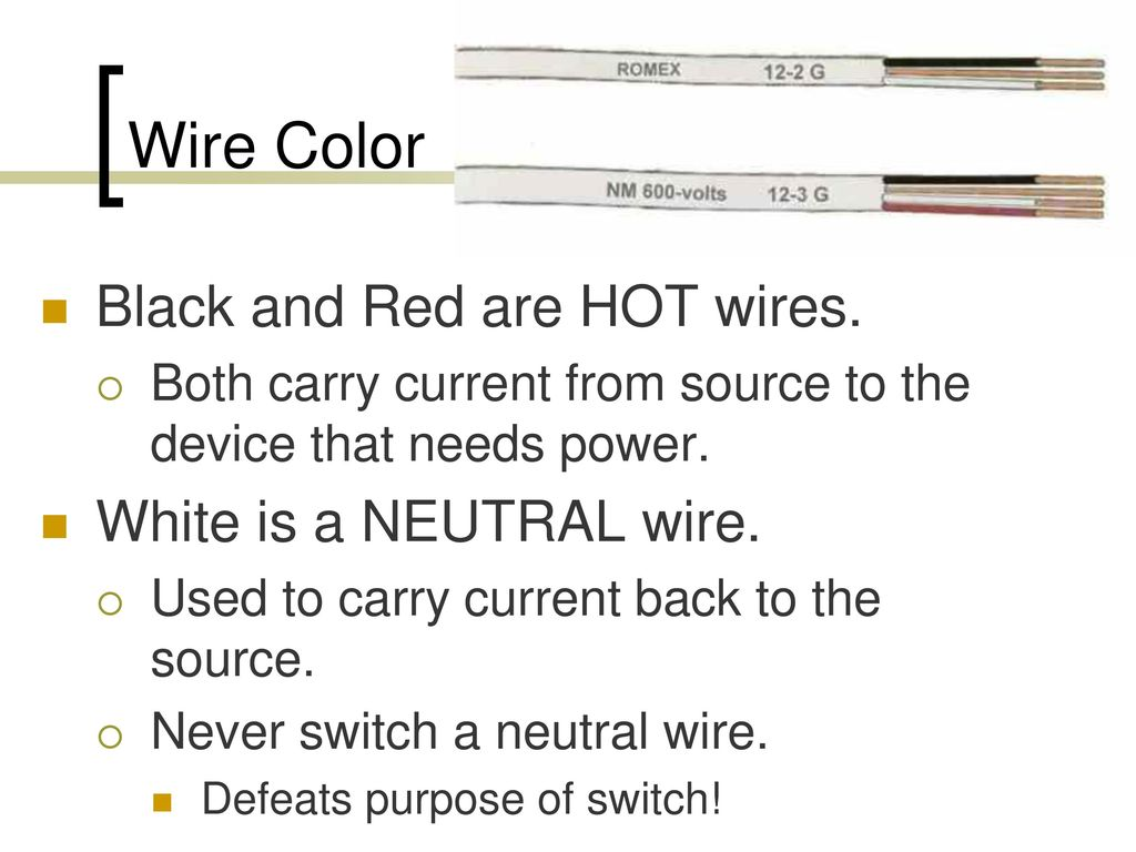 Generous Which Color Is Neutral Wire Gallery - Wiring Diagram Ideas ...