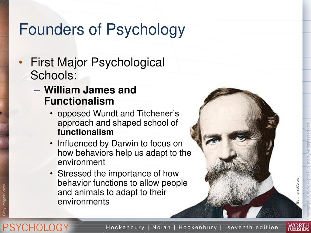 "essays psychology william james Free essay: psy 101 4/7/13 ""william james and functionalism"" i introduction william james (january 11, 1842 – august 26, 1910) was an american philosopher."