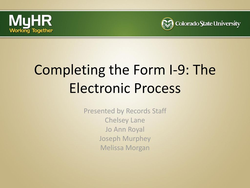 Completing the form i 9 the electronic process ppt download completing the form i 9 the electronic process falaconquin