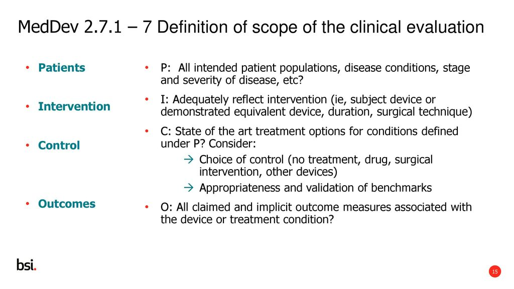 Medical devices regulation ppt download for State of the art meaning