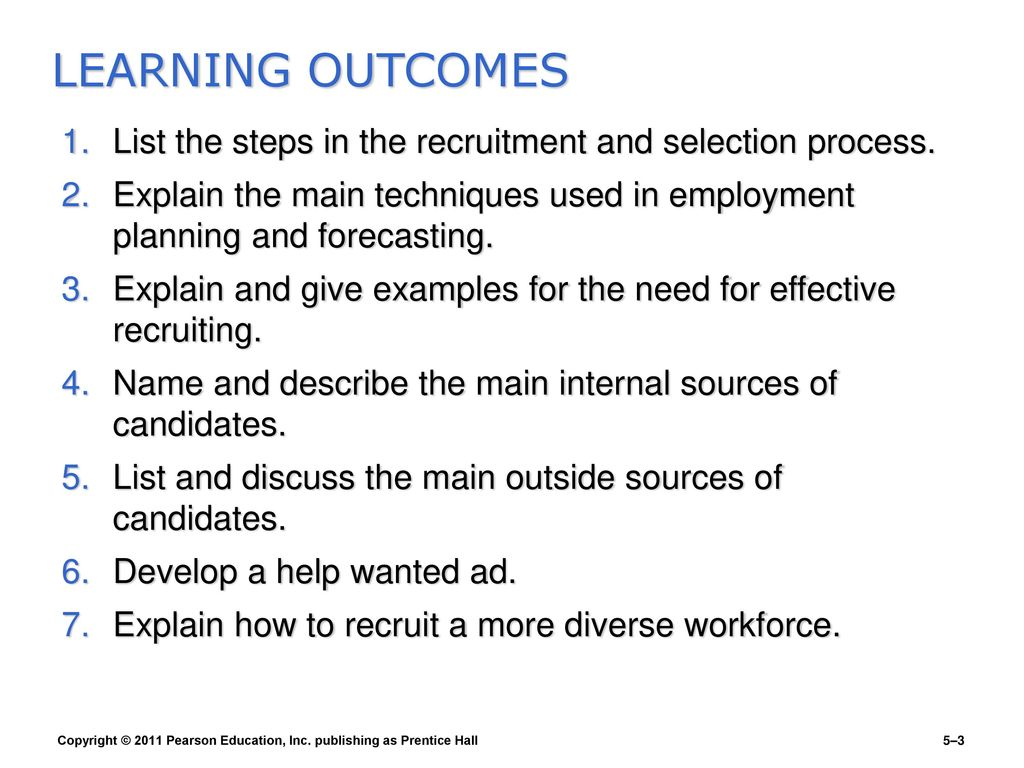 what effective recruitment and selection processes Recruitment selection process retention of staff and design and implementation of effective recruitment campaign processes and policies.
