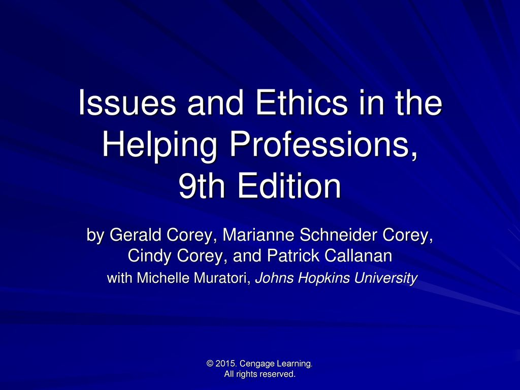 Issues and ethics in the helping professions 9th edition ppt issues and ethics in the helping professions 9th edition xflitez Image collections