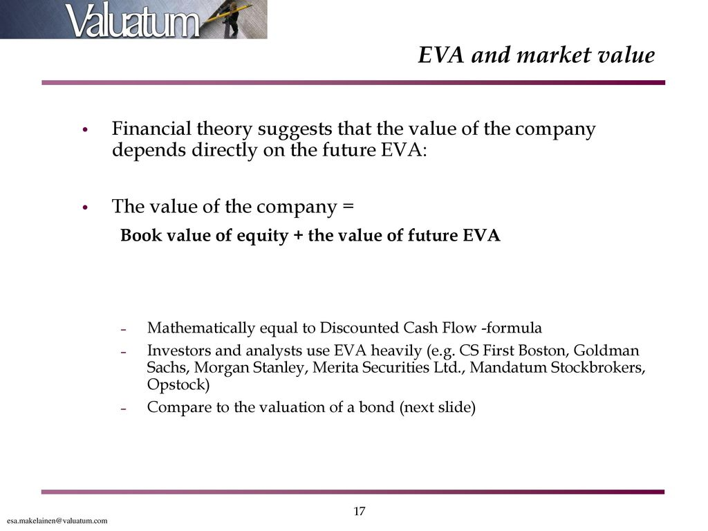 relationship between economic value added and market