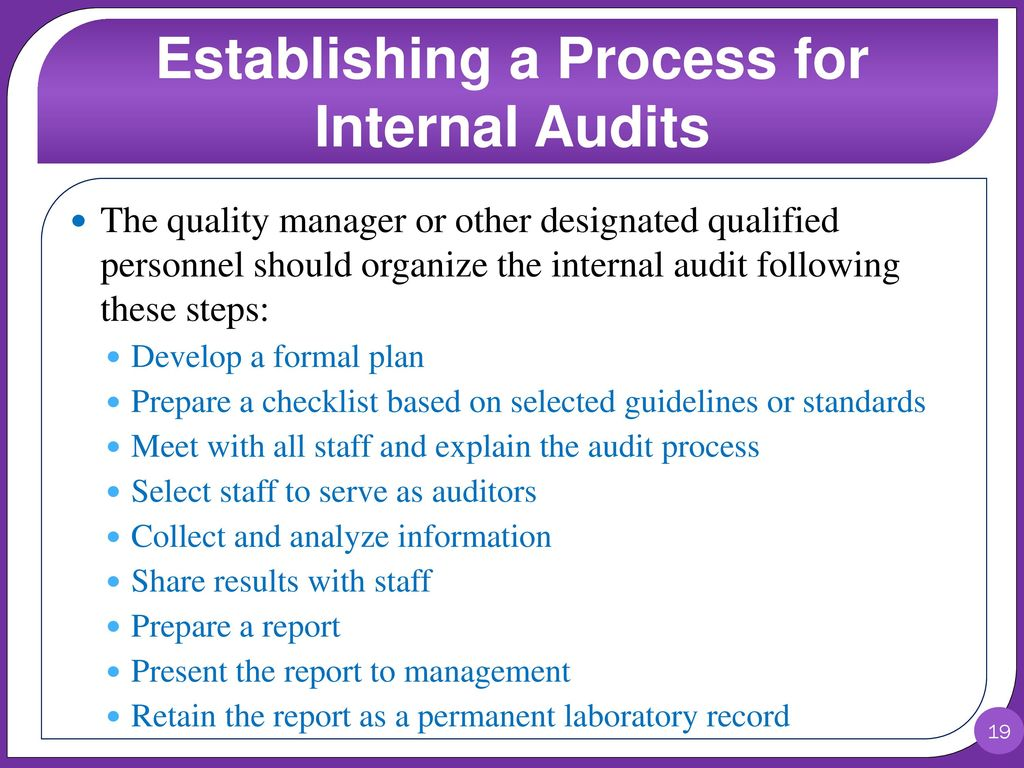 prepare a comprehensive checklist for evaluating internal controls It was prepared by bruce long and jeremy kanthor forthe health finance  the  purpose of this document is to provide guidance and checklists to facilitate the  self-  logistics internal control evaluation (slice) process, this self- assessment of internal  for some, a comprehensive assessment is necessary  for others, a.