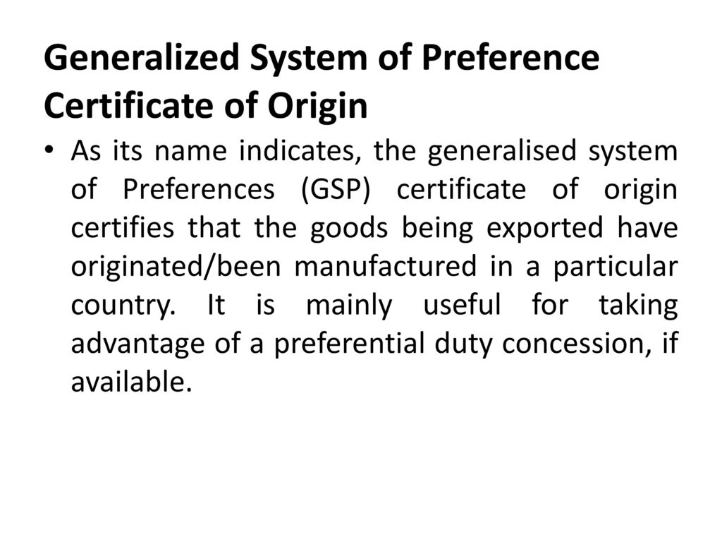 the generalized system of preferences Renewal of the generalized system of preferences (gsp) and retroactive application for certain liquidations and reliquidations under the gsp.