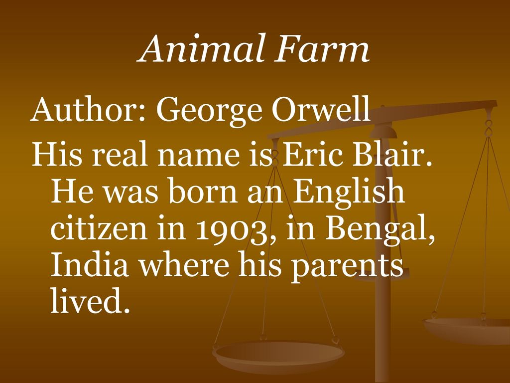 the corruption of absolute power in george orwells animal farm In animal farm, george orwell effectively uses napoleon's character to illustrate that many dictators employ cunning and unfair methods to gain and maintain power throughout the novel, napoleon works behind the scenes and canvasses support for himself in a secretive and devious manner, which the animals do not recognize.