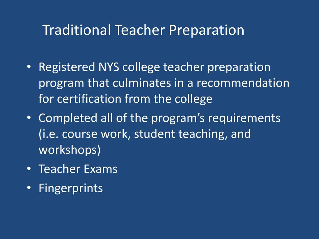 Recent developments in career and technical education ppt download 16 traditional teacher preparation 1betcityfo Image collections