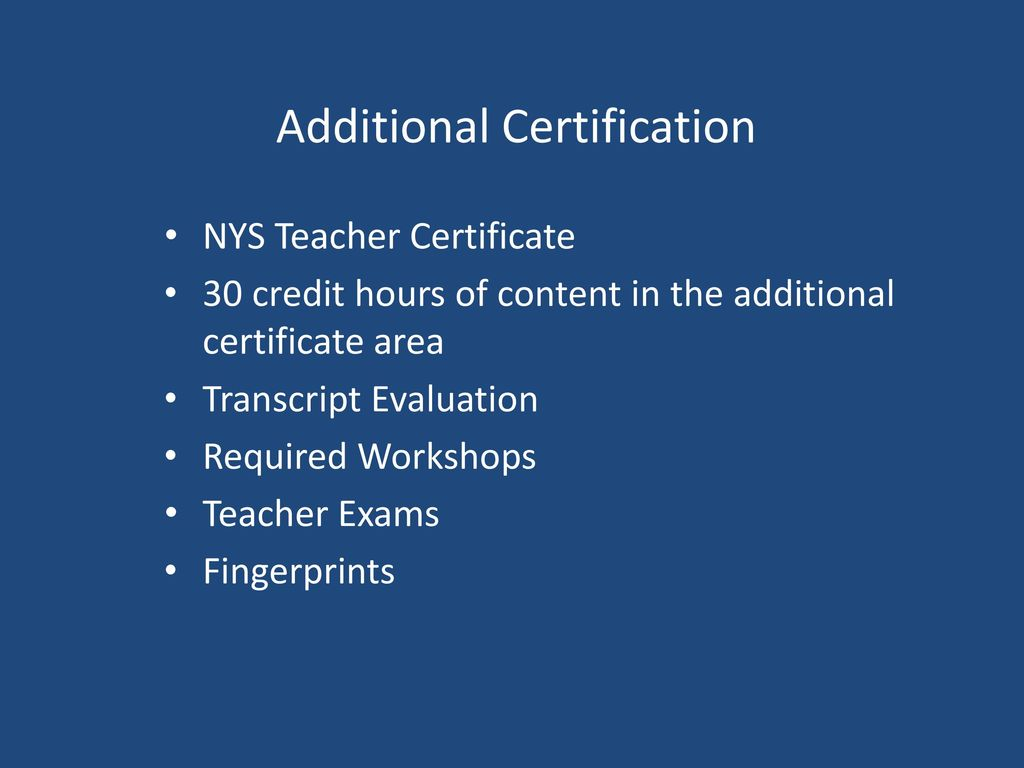 Recent developments in career and technical education ppt download additional certification 1betcityfo Images