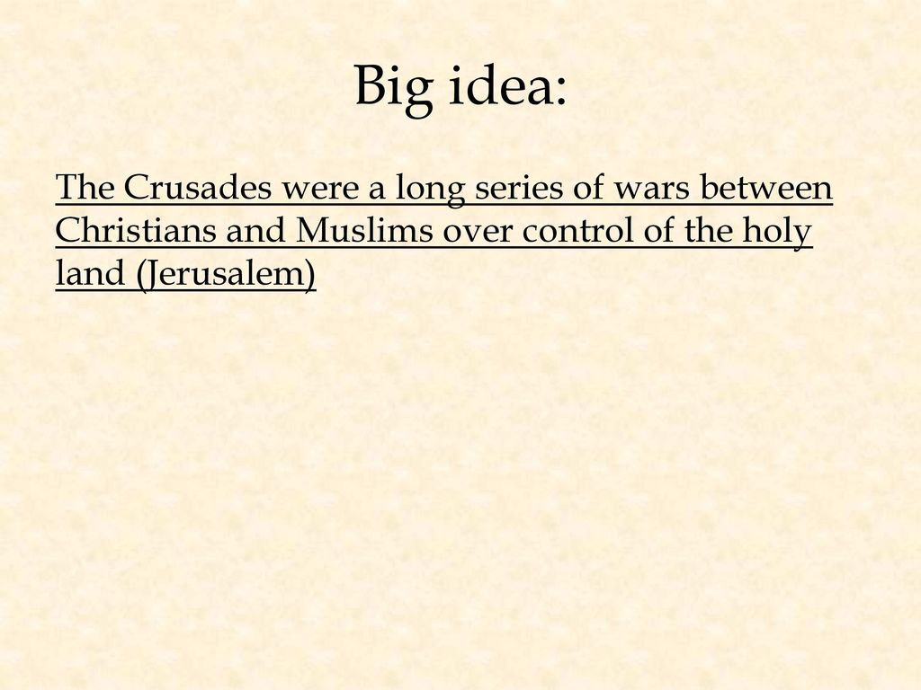 the crusades a war between christians Conflict between religions threatens future of the world so long as they do not wage war against muslims on account of their religion the future of the world depends on peace between muslims and christians.