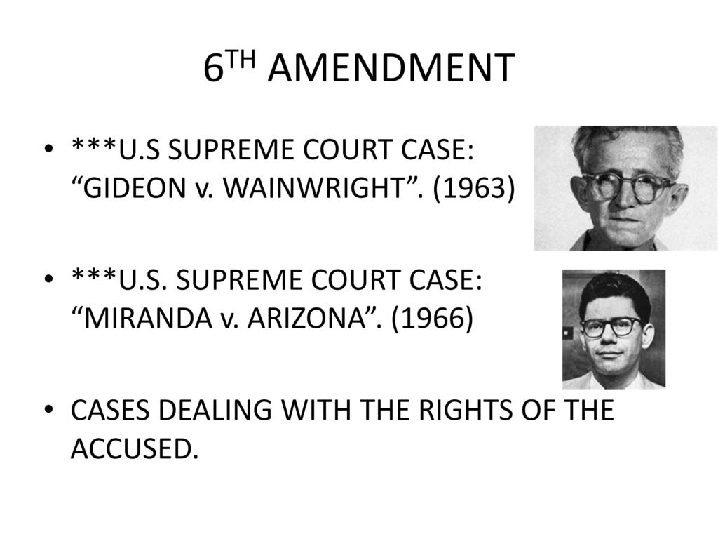 """6th amendment criminal case When during the course of a criminal case must the right to counsel be made available in powell v alabama, after all, the us supreme court found that the scottsboro boys had been denied their right to a fair day in court, because """"during perhaps the most critical period of the proceedings against these defendants, that is to say, from the time of."""