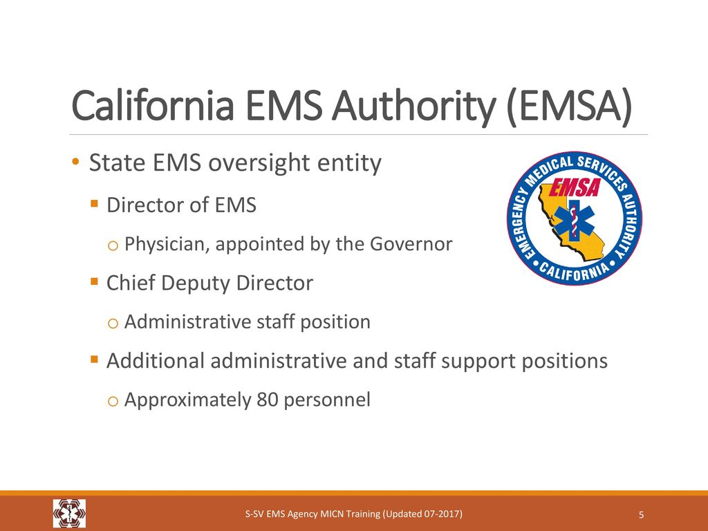 Emergency medical services ems system ppt download california ems authority emsa 1betcityfo Images