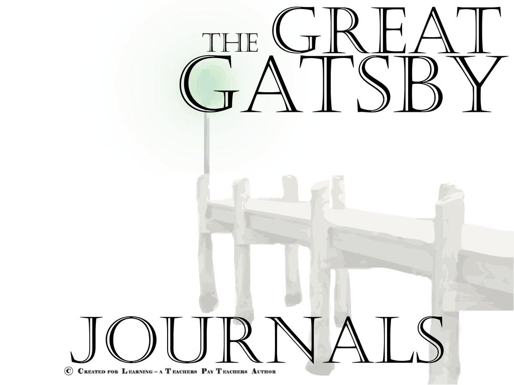 comparative study the great gatsby