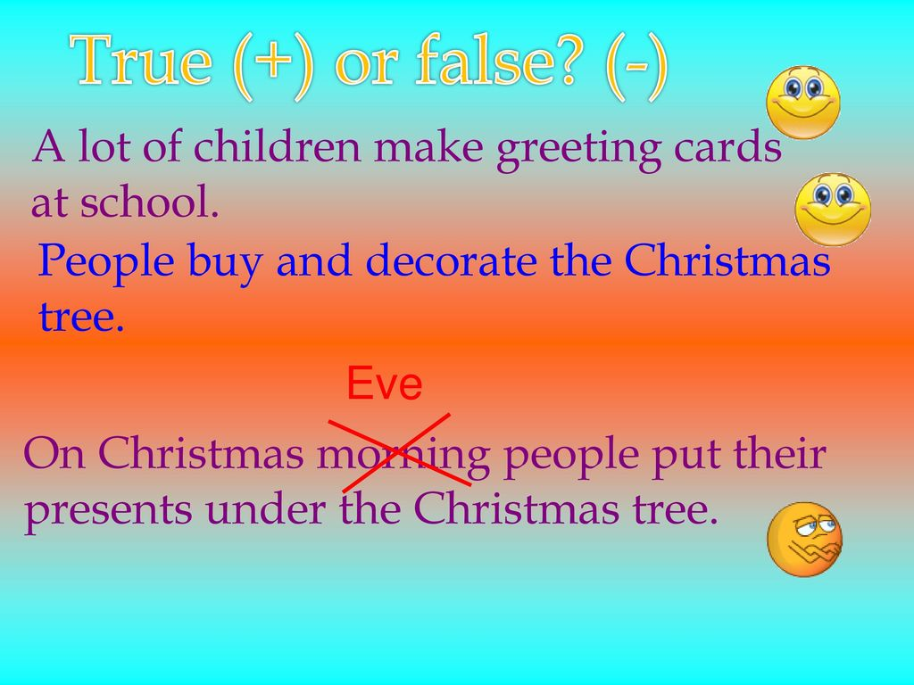 Christmas in great britain ppt download true or false a lot of children make greeting cards kristyandbryce Gallery
