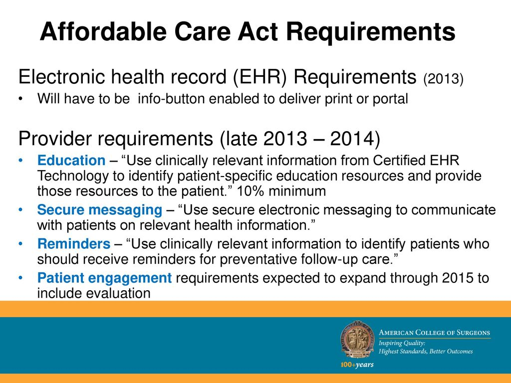 Patient education by your name here ppt download 24 affordable care act requirements 1betcityfo Image collections