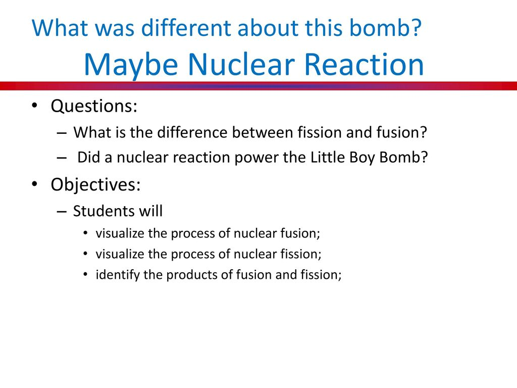 bombs away different reactions to the What are different types of bombs update cancel  are there different sizes of nuclear bombs which kind of bomb is stronger, a fusion bomb or a fission bomb why.