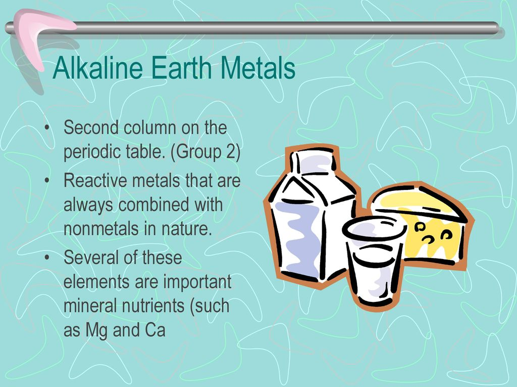 Periodic table of elements alkaline earth metals images periodic alkaline earth metals periodic table image collections periodic elements compounds and mixtures ppt download 35 alkaline gamestrikefo Images