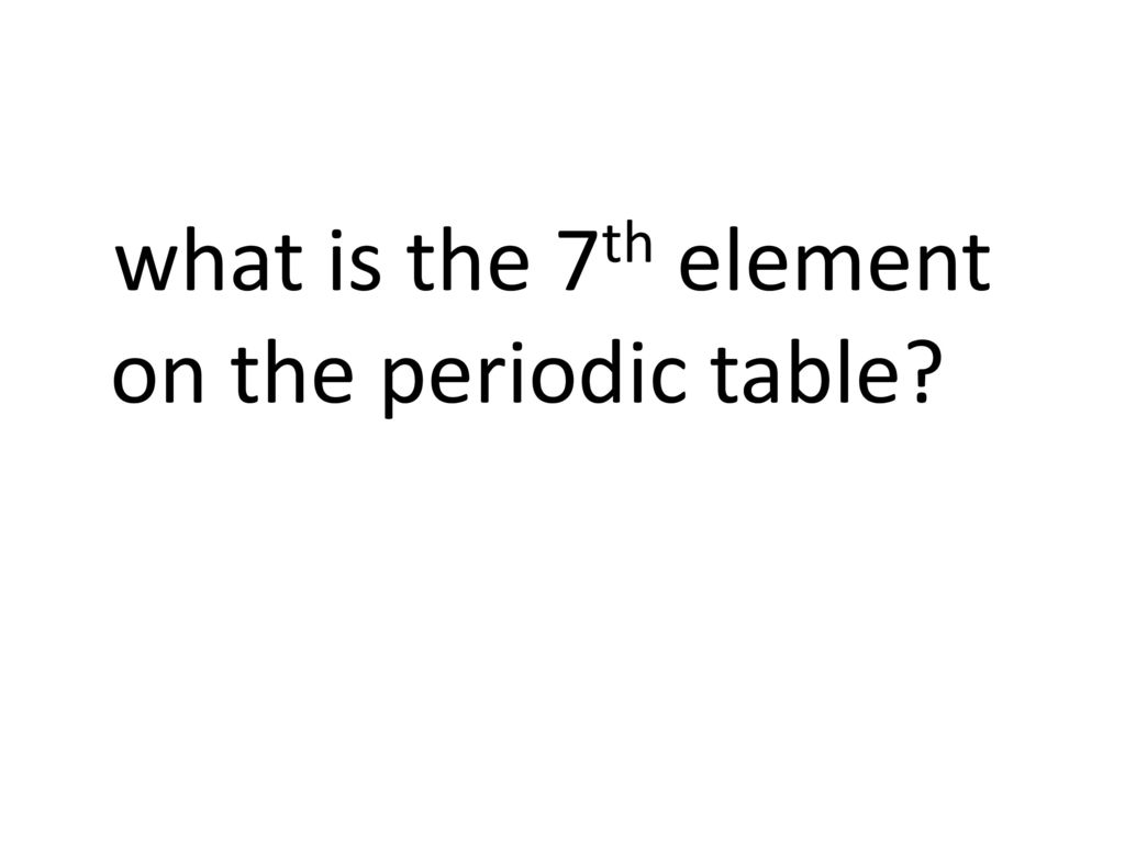 What is the heaviest element on the periodic table image 7th element on the periodic table choice image periodic table images science quiz 1st years science gamestrikefo Images