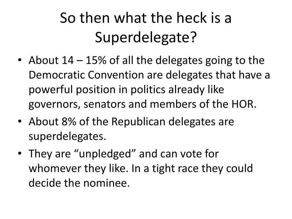 superdelegates cost democrats