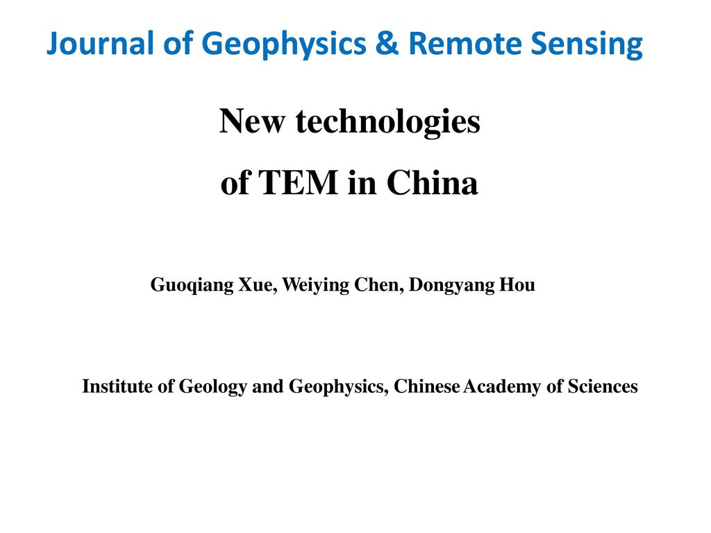 Journal of geophysics remote sensing ppt video online download journal of geophysics remote sensing fandeluxe Image collections