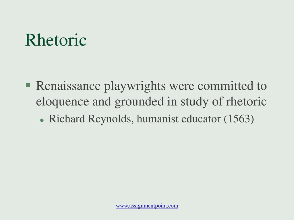 renaissance and eloquence Click here to begin with the 1st installment of italy's renaissance humanism, also known as renaissance humanism, was an activity of reform engaged in by scholars, writers and civic leaders in 14th and early 15th century italy, which later spread to the rest of europe becoming known as the .
