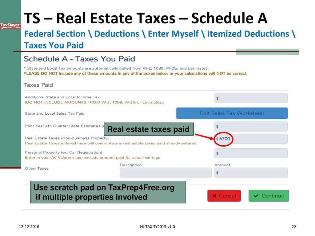 Itemized deductions nj property tax deduction credit ppt download 22 falaconquin