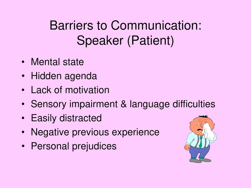 the barriers to communication reaction Of these are non-verbal ways of communicating that impact the messages our   barriers to sending consistent messages  you don't provide any response.