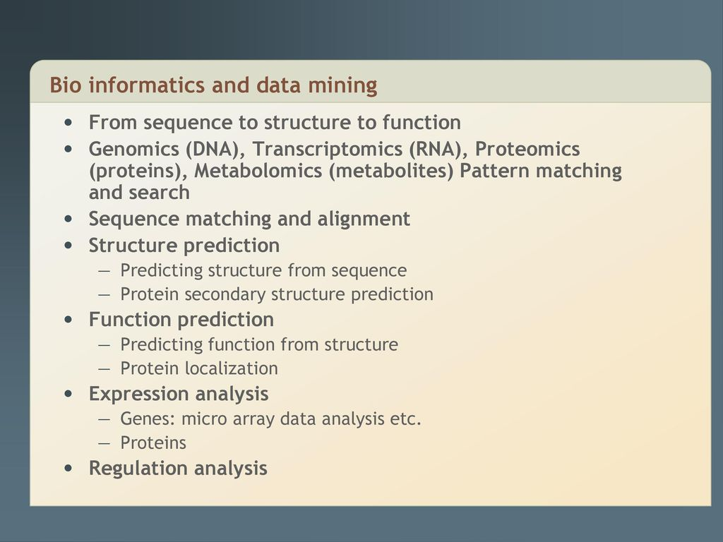 structure of bio data