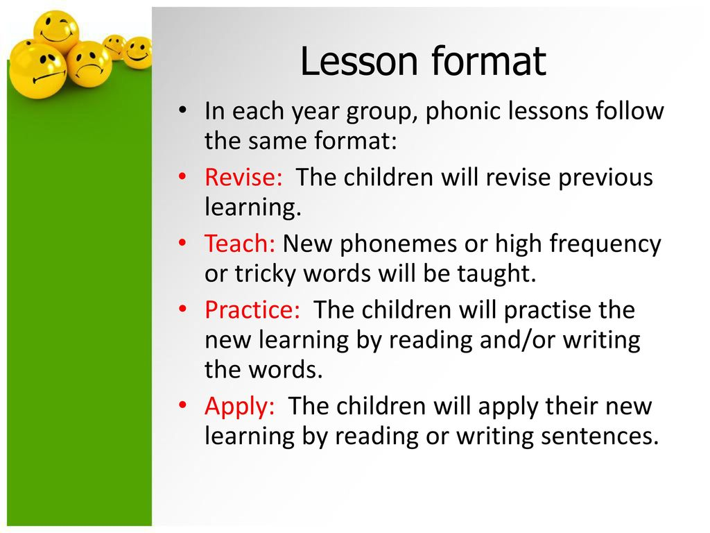 Worksheets Phonic Sentences phonics meeting for parents ppt download lesson format in each year group phonic lessons follow the same revise