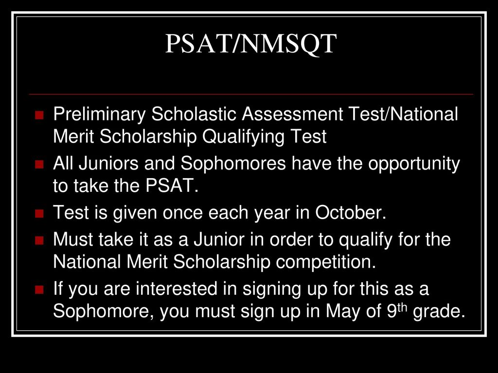 how to tell if you qualify for national merit scholarship
