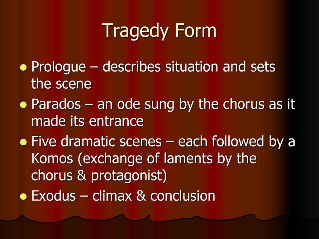 the exchanges between medea and the chorus in euripides tragedy This was a choral hymn to the god dionysus and involved exchanges between a lead  pantomimes accompanied by a chorus developed out of tragedy,  medieval drama.