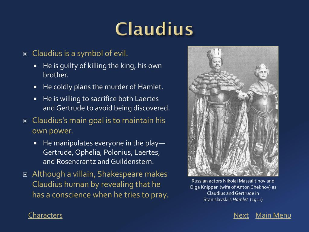 Viewing this presentation ppt download claudius claudius is a symbol of evil biocorpaavc