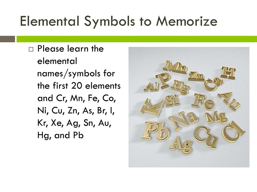 Atoms molecules and ions ppt download elemental symbols to memorize biocorpaavc Image collections
