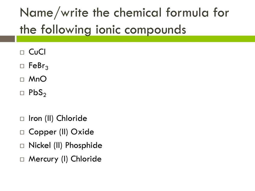 Chemical symbol for mercury image collections symbol and sign ideas atoms molecules and ions ppt download namewrite the chemical formula for the following ionic compounds buycottarizona buycottarizona
