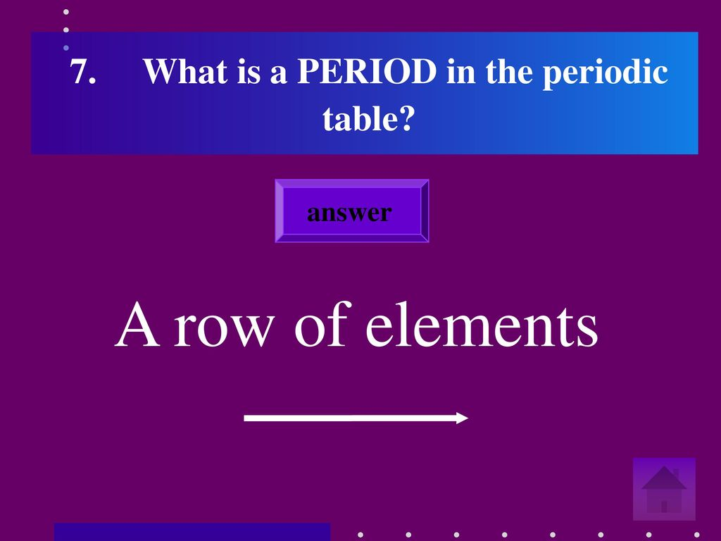 Period in periodic table definition choice image periodic table define period in periodic table image collections periodic table elements compounds and chemical reactions ppt download gamestrikefo Choice Image