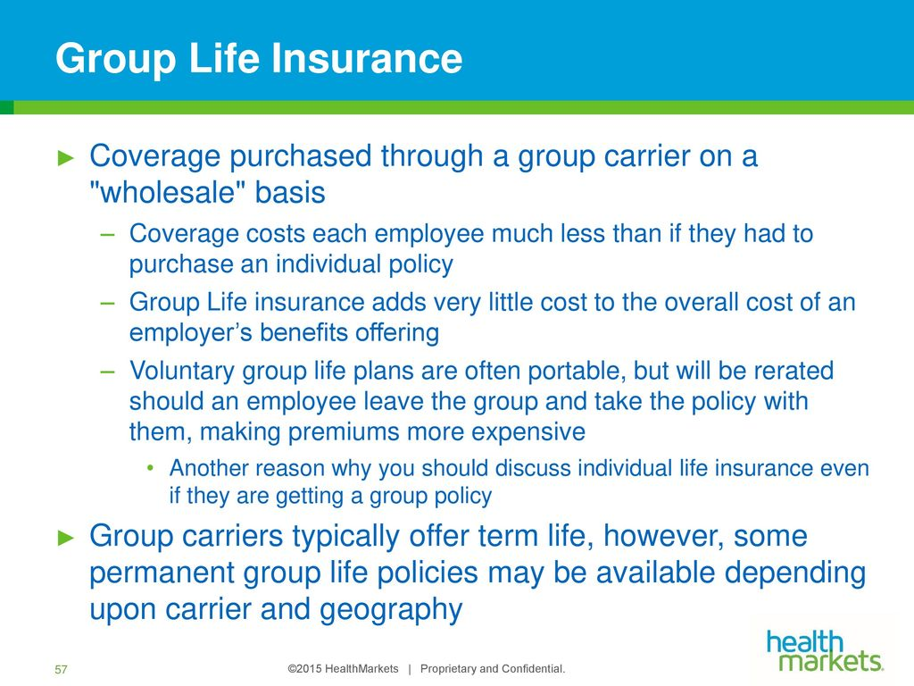 group life insurance policy pdf