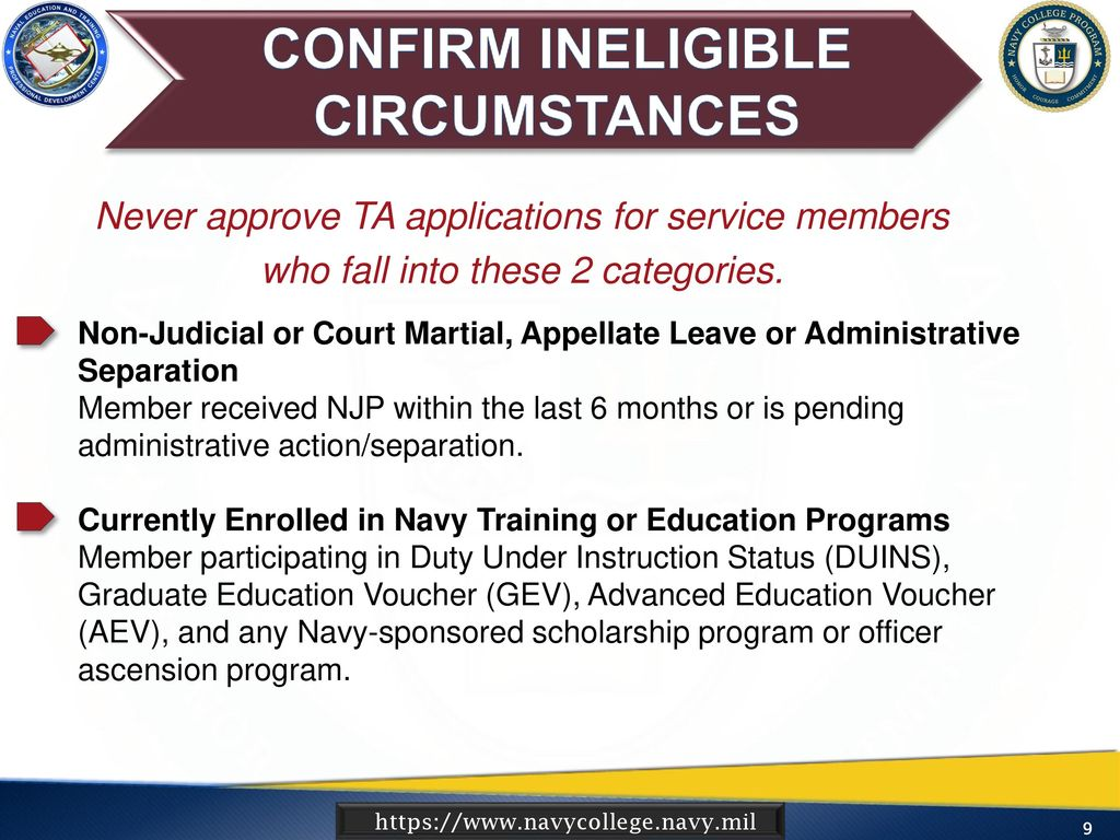 navy administrative separation instruction