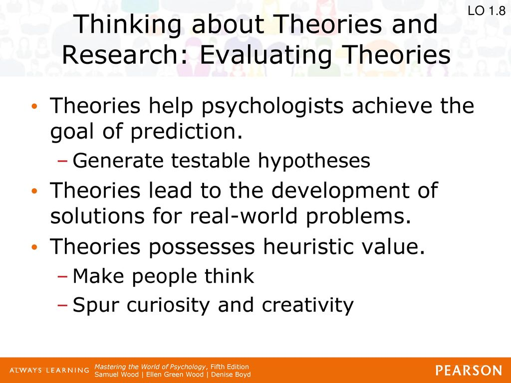 critically evaluate the three theories of Alternatively, one might use thagard's (1978) three criteria of explanatory breadth, simplicity and analogy in a less formal manner, as darwin did to evaluate the worth of competing explanatory theories.