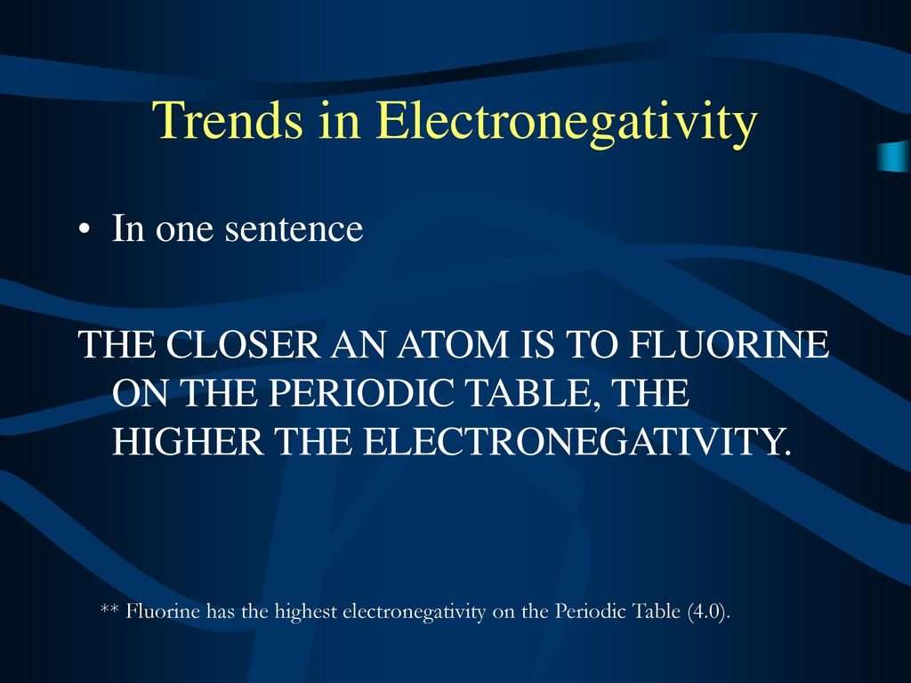 Properties of elements and trends ppt download 71 trends in electronegativity gamestrikefo Images