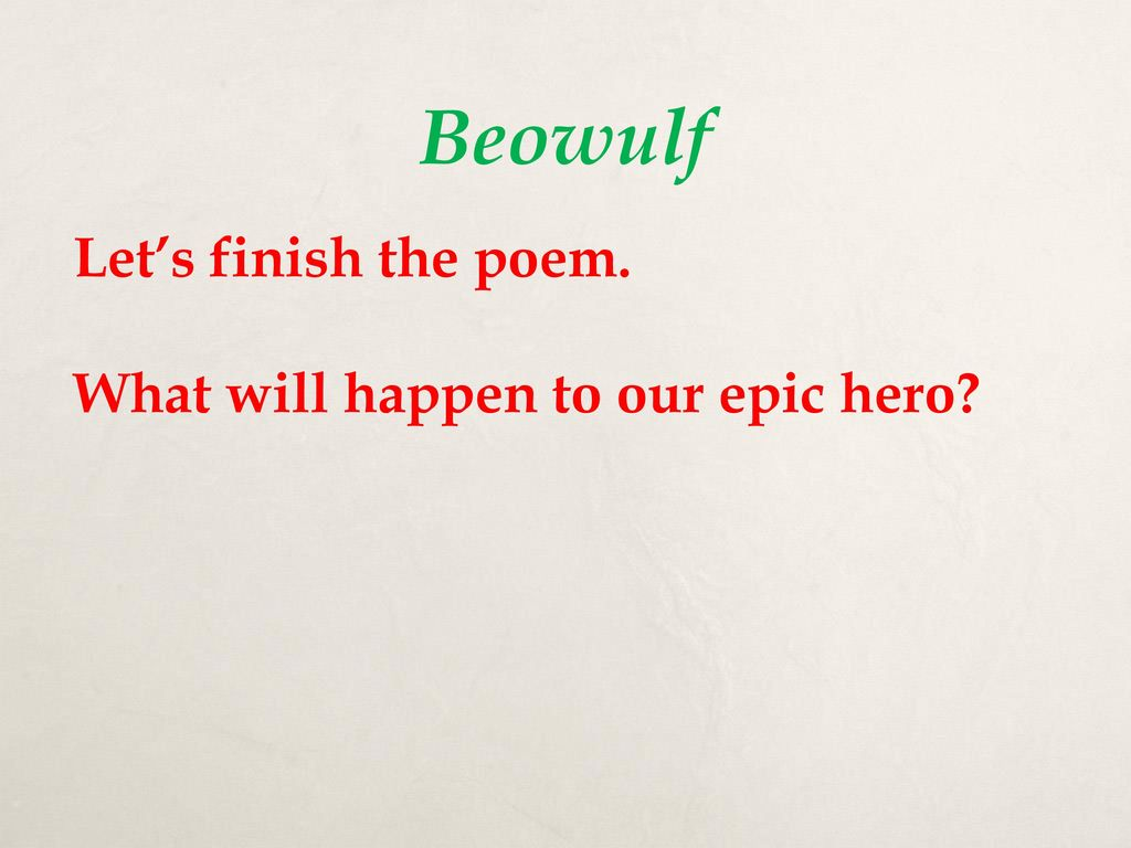beowulfs defining characteristic Beowulf must fight grendel bare-handed, and the other warriors are unable to come to beowulf's aid beowulf tears grendel's arm off at the shoulder and hangs it.