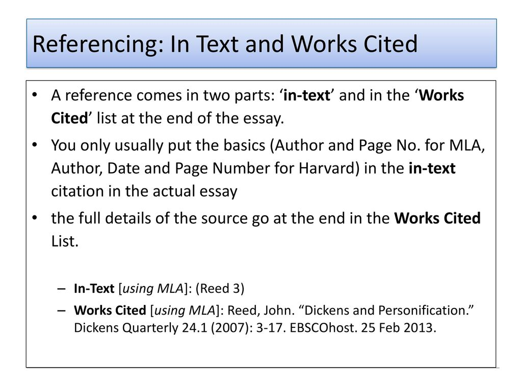 quoting in an essay harvard Referencing harvard referencing guide when writing a piece of work you will need to refer in your text to material written produced by others this procedure is called citing or quoting references.