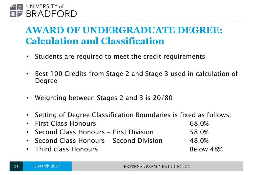 undergraduate degree classification - Kordurmoorddiner