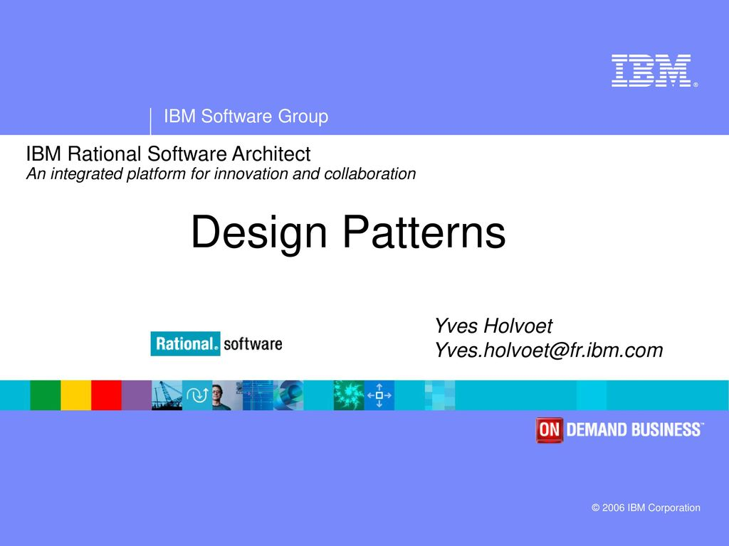 Ibm rational software architect an integrated platform for ibm rational software architect an integrated platform for innovation and collaboration baditri Gallery